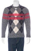 Givenchy Wool Argyle Sweatshirt