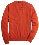 Brooks Brothers Cashmere V-Neck Sweater