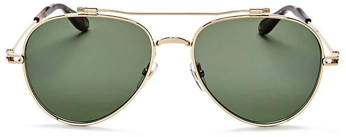 Givenchy Women's Double Brow Bar Aviator Sunglasses, 58mm
