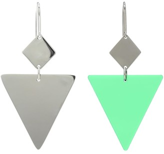 Isabel Marant Resin and silver-tone metal earrings