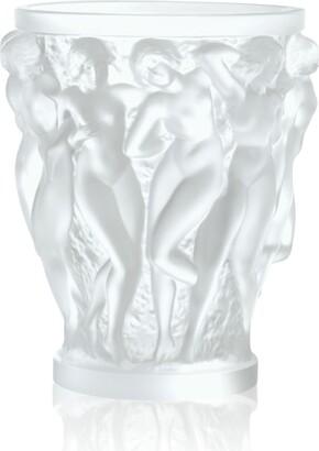 Lalique Bacchantes Grand Vase (34.5Cm)
