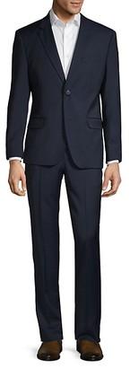 Ben Sherman Slim-Fit Textured Wool Blend Suit