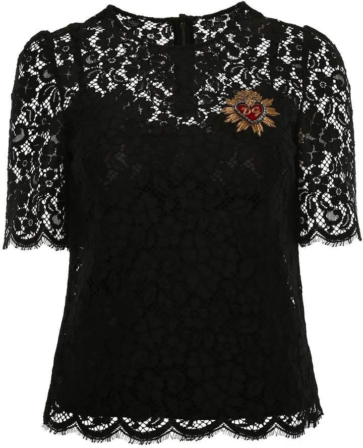 Dolce & Gabbana Lace Blouse