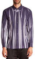 Issey Miyake Wrinkle Check Woven Sportshirt