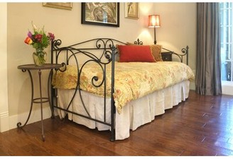 Benicia Foundry and Iron Works Hawthorne Twin Daybed Accessories: With Trundle