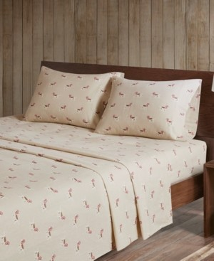 Woolrich Cotton Flannel 4-Piece Full Sheet Set