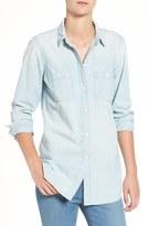 Madewell Women's Ex-Boyfriend Slim Chambray Shirt