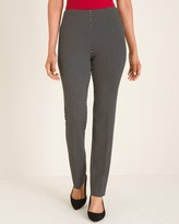 So Slimming Juliet Lurex Dot Straight-Leg Pants