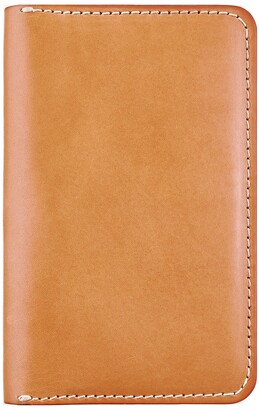 Red Wing Shoes Leather Passport Wallet in London Tan