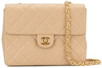 Chanel Pre Owned 1990's quilted CC single chain shoulder bag