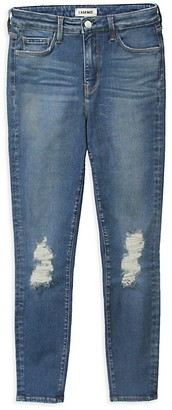L'Agence Margot High-Rise Distressed Jeans