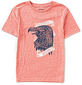 Lucky Brand Little Boys 2T-7 USA Eagle Crew Neck Short-Sleeve Graphic Tee