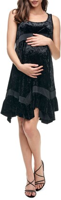 Maternal America Maternity Babydoll Dress