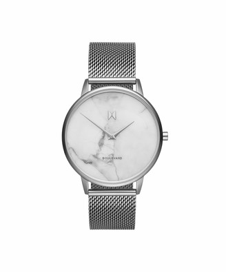 MVMT Womens Analogue Quartz Watch with Stainless Steel Strap D-MB01-SMA