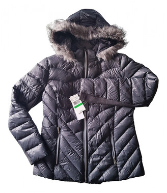 BCBGMAXAZRIA Grey Polyester Coats