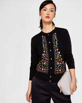 Ted Baker Hampton Court embroidered cardigan