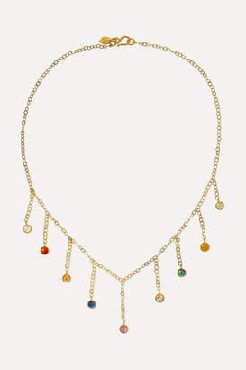 Pippa Small 18-karat Gold Multi-stone Necklace