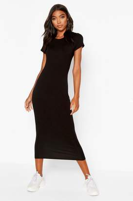 boohoo Tall Cap Sleeve Bodycon Dress