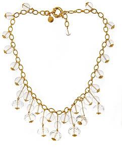 Loren Hope Crystal Clear Sophie Bib Necklace