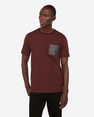 Express Striped Moisture-Wicking Stretch T-Shirt
