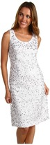 Jones New York Sleeveless Sequin Dress (JWhite/Silver) - Apparel