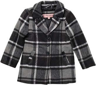 Urban Republic Long Length Woolen Coat (Little Girls)