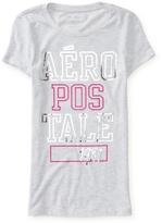 Aeropostale Stacked Aero Shine Graphic T