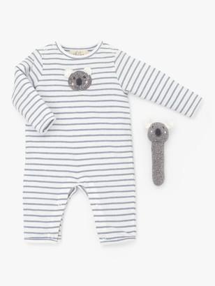 Albetta Koala Babygro and Rattle Gift Set