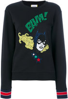 Iceberg embroidered comic sweatshirt - women - Cotton/Polyamide/Polyester - 40