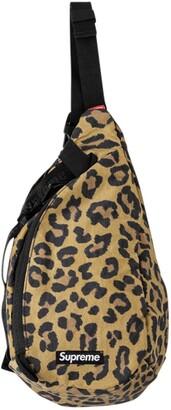 Supreme Sling leopard-print bag