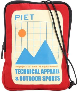 Piet Logo Printed Crossbody Bag
