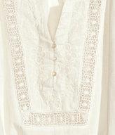 H&M Peasant Blouse - White - Ladies