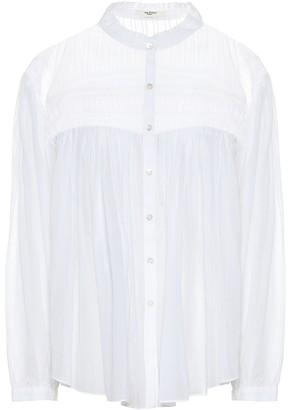 Etoile Isabel Marant Isabel Marant, étoile Lalia smocked cotton blouse