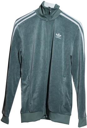 adidas Green Cotton Jacket for Women