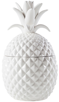 Torre & Tagus Tall Pineapple Ceramic Canister