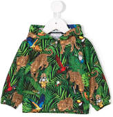 Dolce & Gabbana printed zip jacket