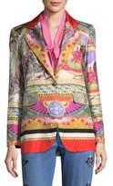 Etro Circus Silk-Blend Blazer
