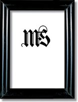 Imperial Frames 3-1/2 by 5-Inch/5 by 3-1/2-Inch Picture/Photo Frame, Round Molding