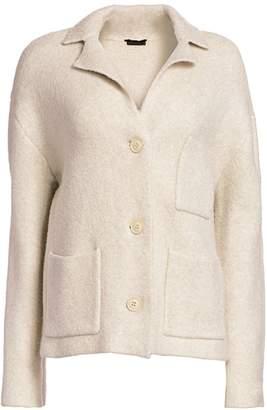 ATM Anthony Thomas Melillo Novelty Blend Sweater