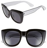 A. J. Morgan Women's A.j. Morgan 'Beam' 50Mm Sunglasses - Black