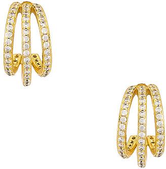 Gorjana Shimmer Triple Huggie Earrings