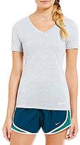 Nike Short Sleeve V-Neck Legend Short Sleeve Dry Tee