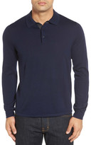 John W. Nordstrom Oversize Wool Polo Sweater