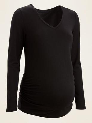 Old Navy Maternity V-Neck Long-Sleeve Tee