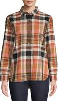 Madewell Classic Plaid Boyfriend Shirt