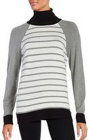 Calvin Klein Striped Long Sleeve Sweater
