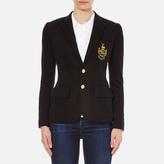 Polo Ralph Lauren Women's Custom Blazer Polo Black