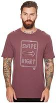 Original Penguin Short Sleeve Swipe Right Tee Men's T Shirt