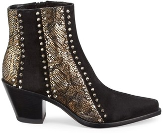 Christian Louboutin With My Guitar 65 Suede Junglefame Booties