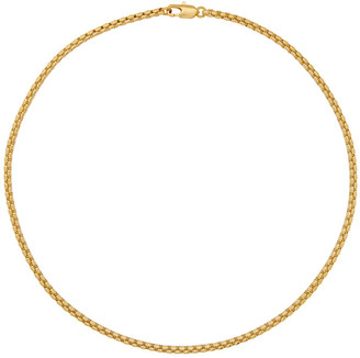 Laura Lombardi Gold Box Chain Necklace